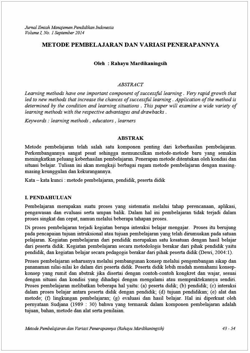 Jurnal Ilmiah Rahayu Mardikaningsih
